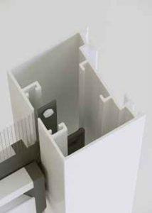 Guida verticale con sistema a bottone per essenza plus verticale by Bellini Srl